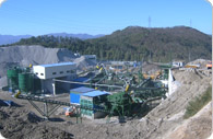 200tph construction demolition waste recycling plant