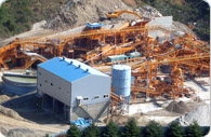 300tph construction demolition waste recycling plant